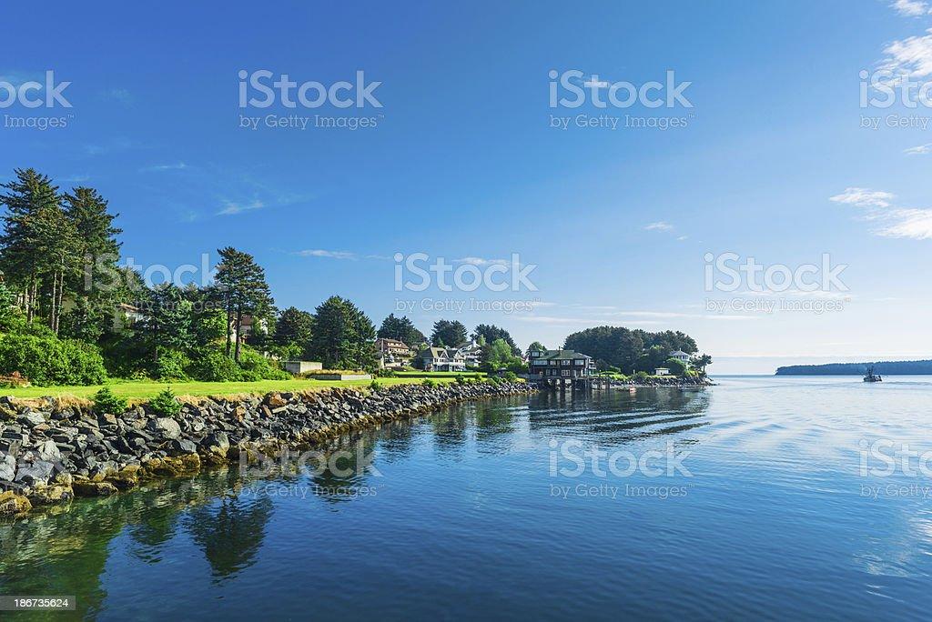 Kodiak City stock photo
