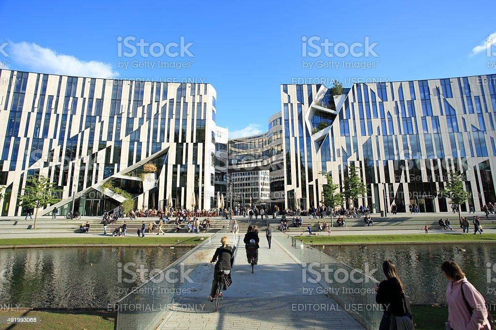 Koe-Bogen Koenigsalle shopping mall stock photo