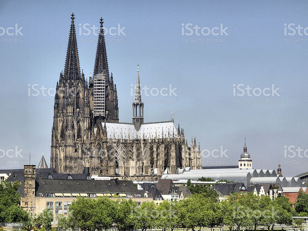 Koeln Cathedral stock photo