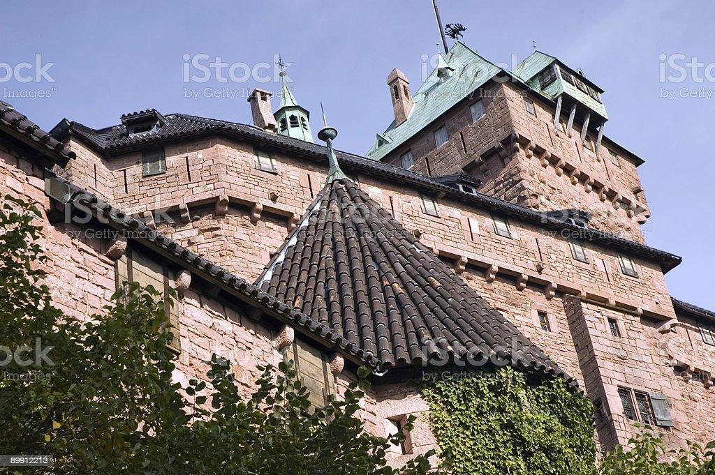 Koenigsburg Castle - France royalty-free stock photo