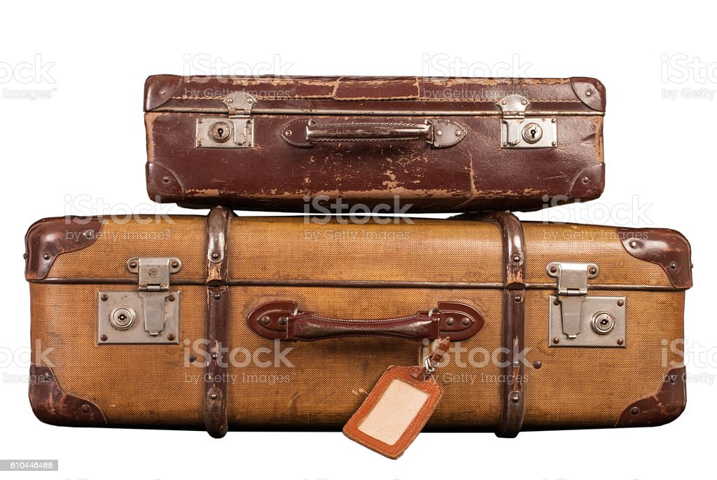 Koffer foto stock royalty-free