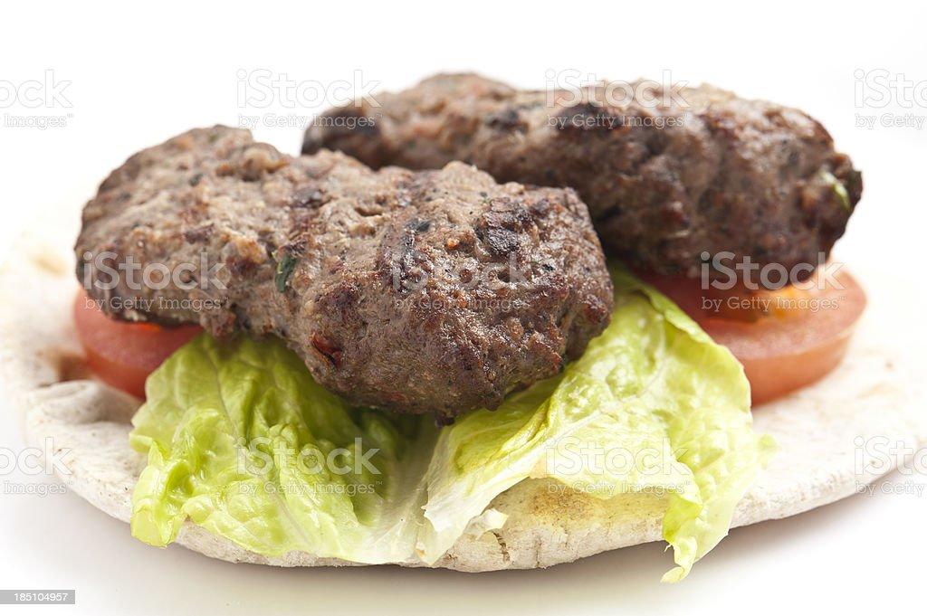 Kofta Kebab stock photo