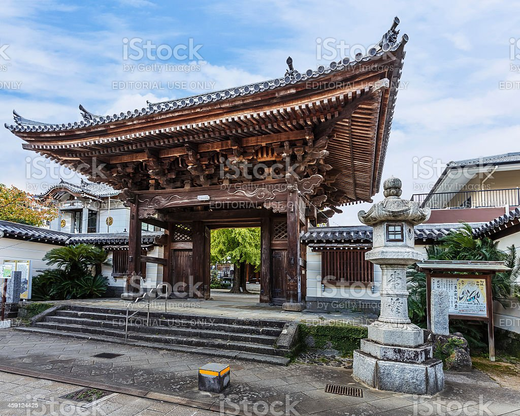 Kofuku-ji Temple in Nagasaki stock photo