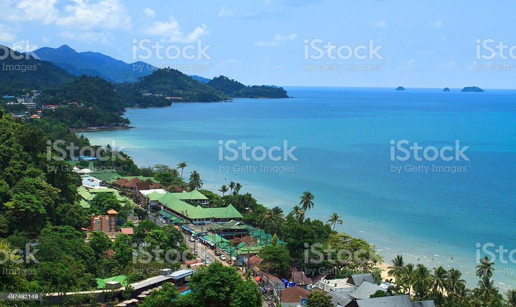 koh chang island stock photo