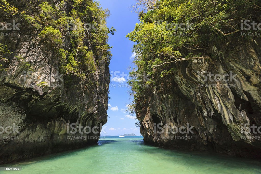 Koh Hong Island. stock photo