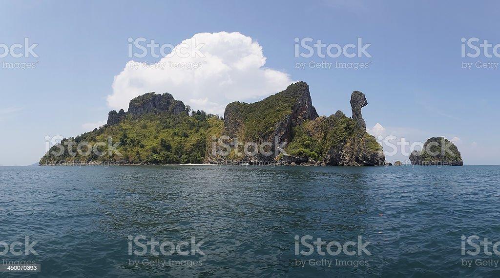 Koh Kai Island. stock photo