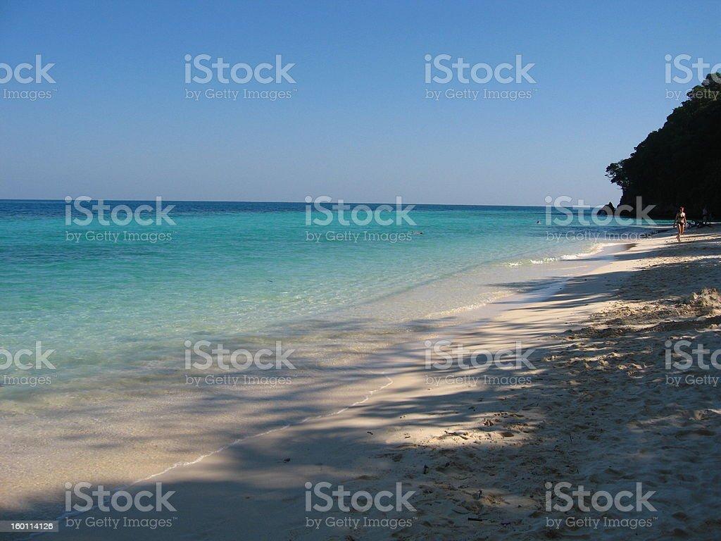 Koh Lan Beach stock photo
