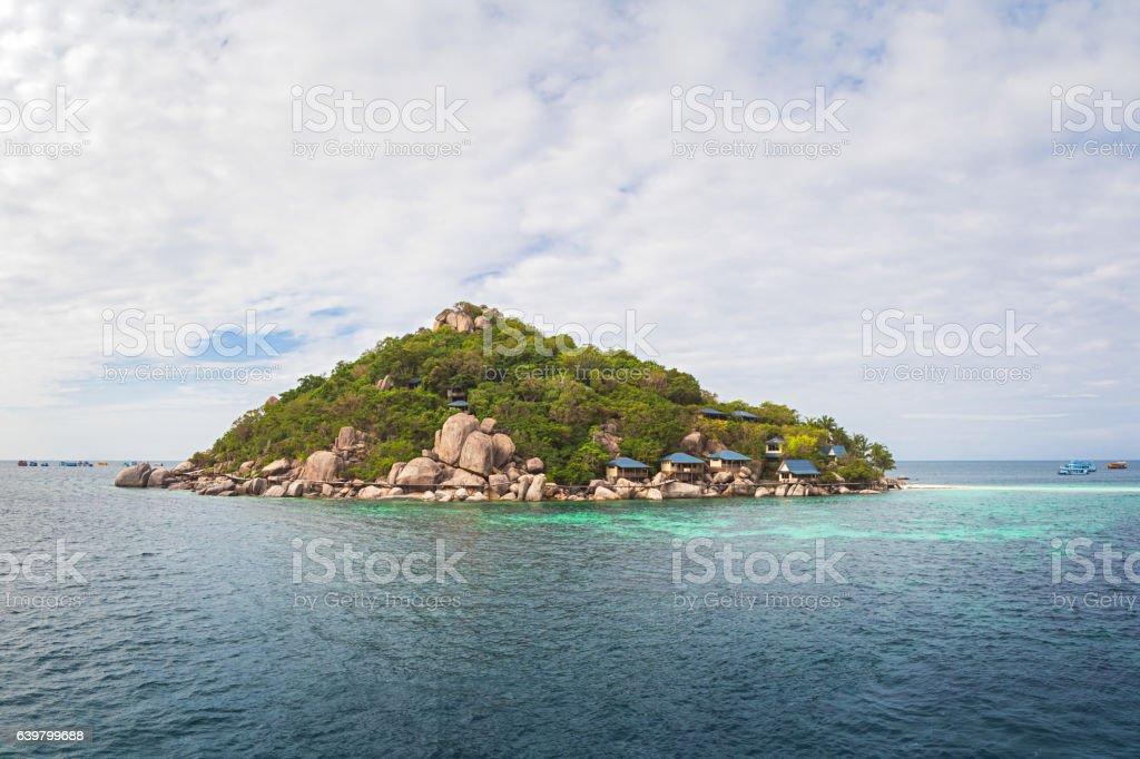 Koh Nang Yuan, Thailand stock photo
