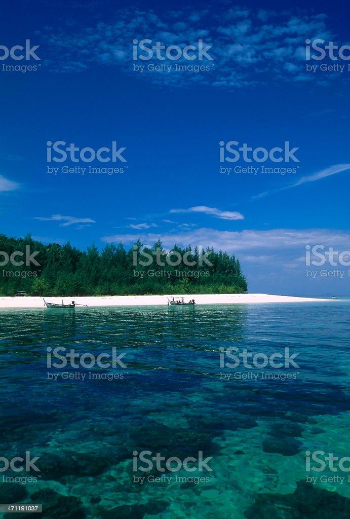 koh phi island krabi province near phuket royalty-free stock photo