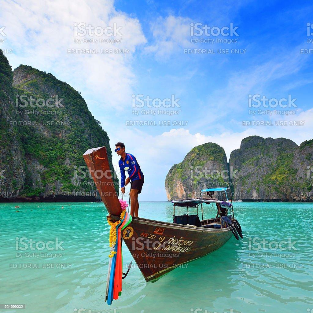 Koh Phi Phi, Thailand stock photo