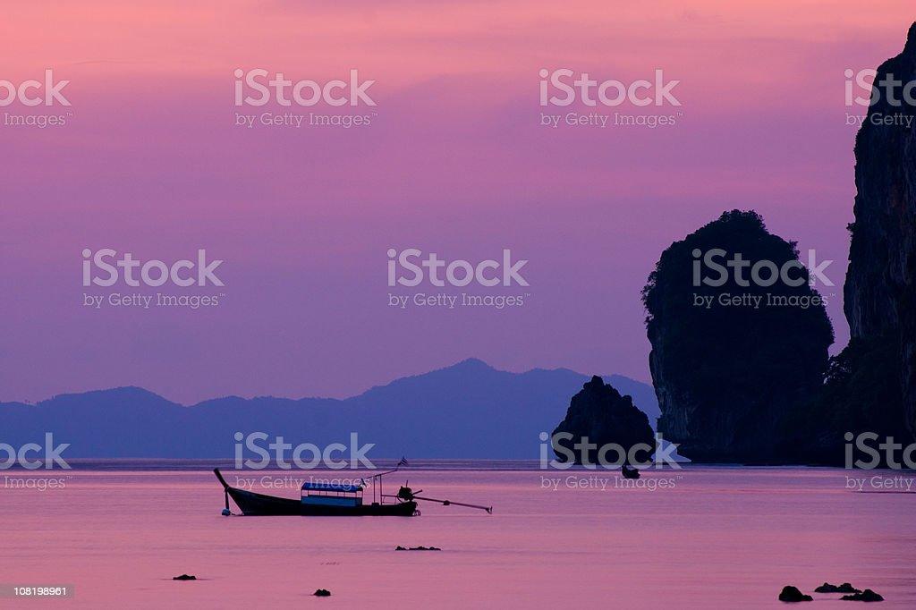 Koh Phi-Phi Sunset stock photo