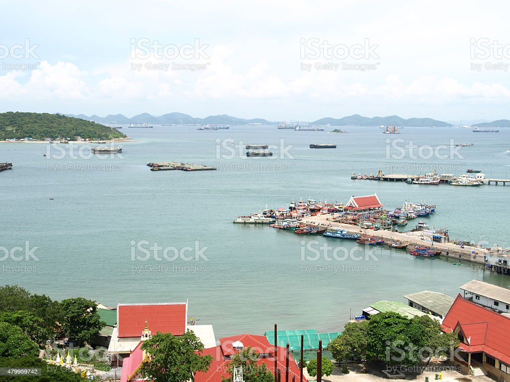 koh sichang stock photo