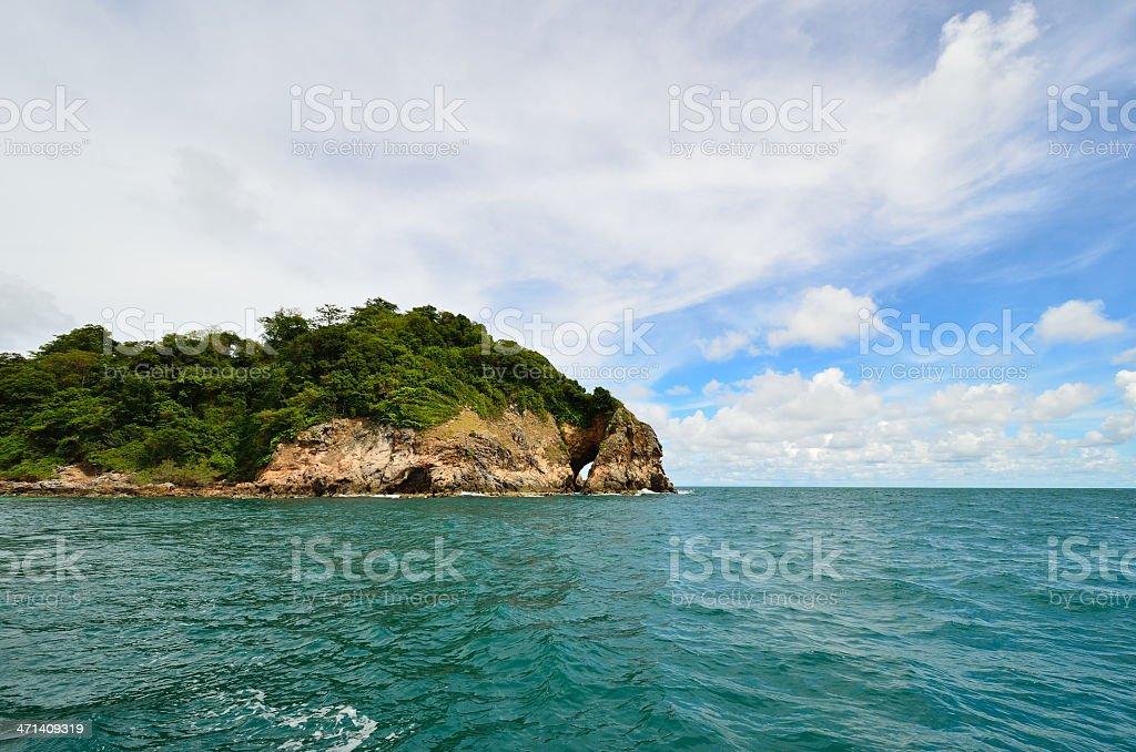 Koh Talu sea landscape of Thailand stock photo