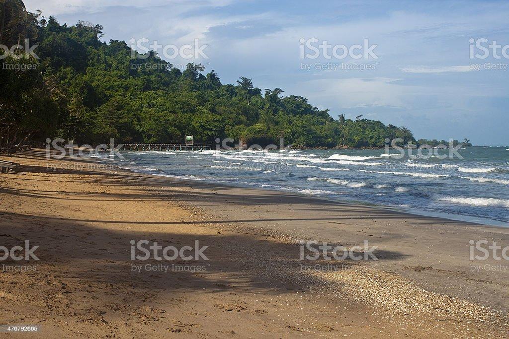Koh Tonsay island stock photo