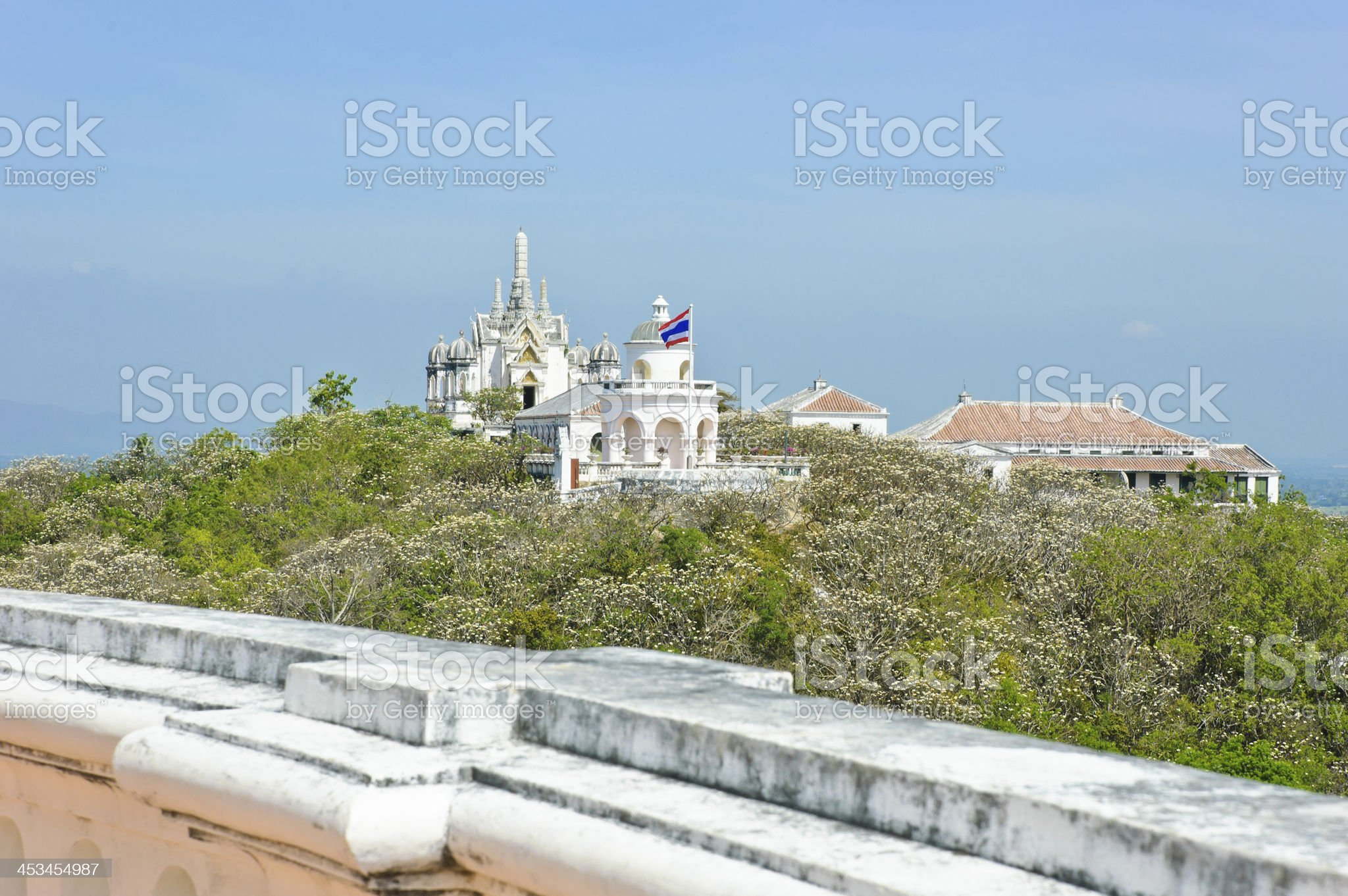 Koh Wung Palace royalty-free stock photo