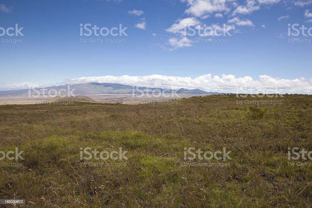 Kohala Mountains on the Big Island of Hawaii stock photo