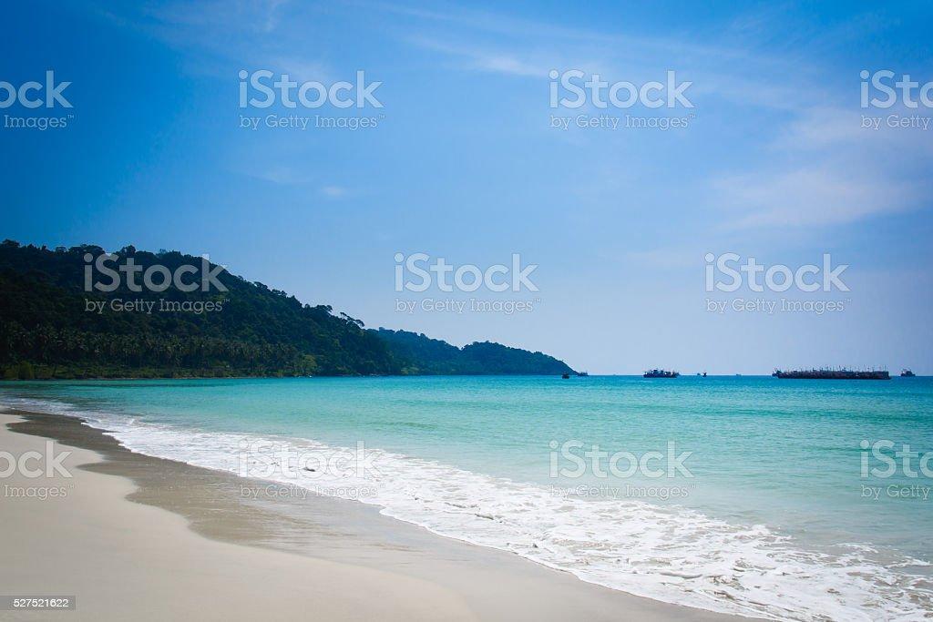 koh-kood beach trat , Thailand stock photo