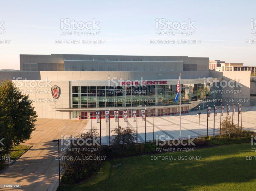 Kohl Center Sports Arena stock photo