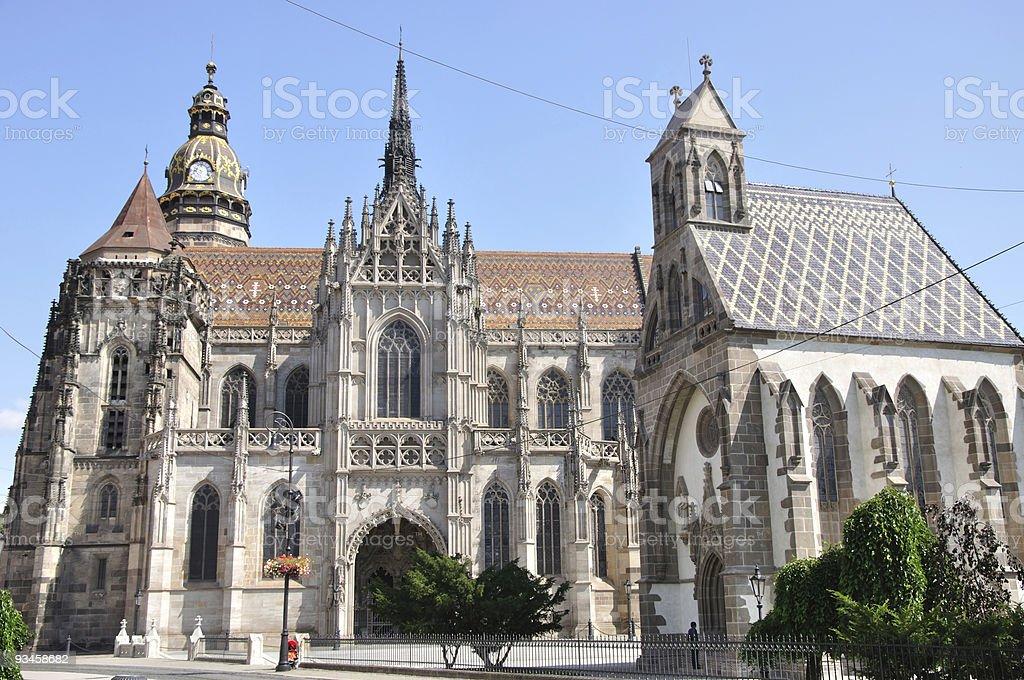 Košice - St. Elisabeth Cathedral stock photo