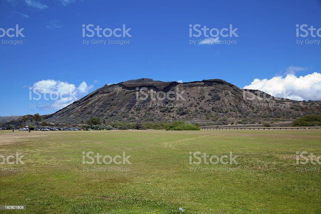 Koko Crater Hawaii stock photo