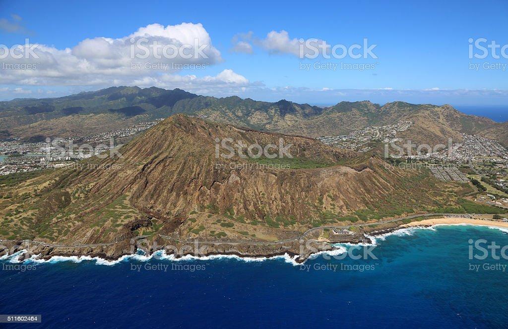 Koko Crater stock photo