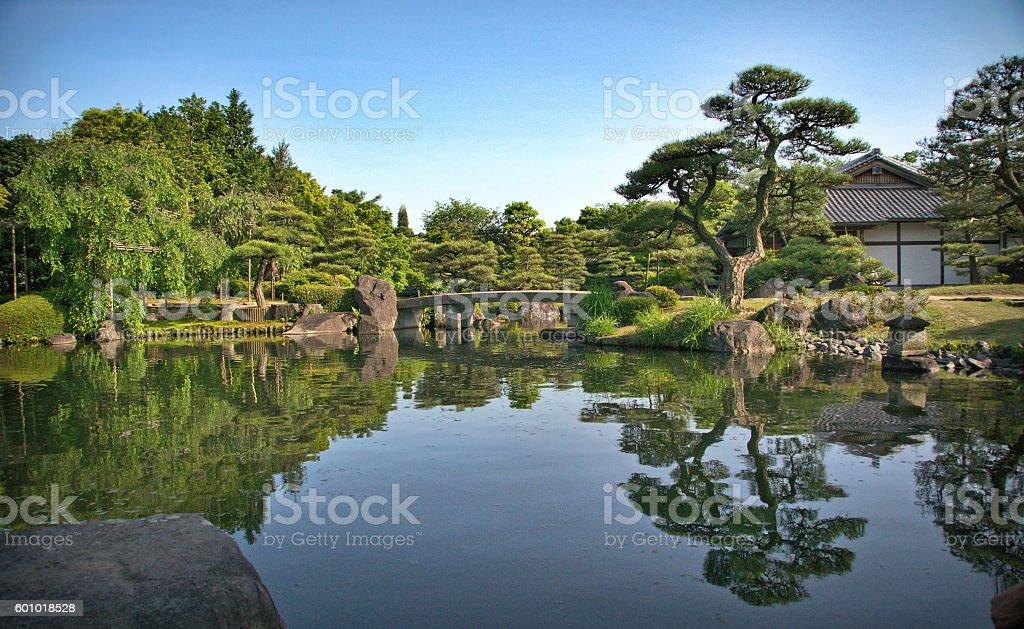 Kokoen Garden stock photo