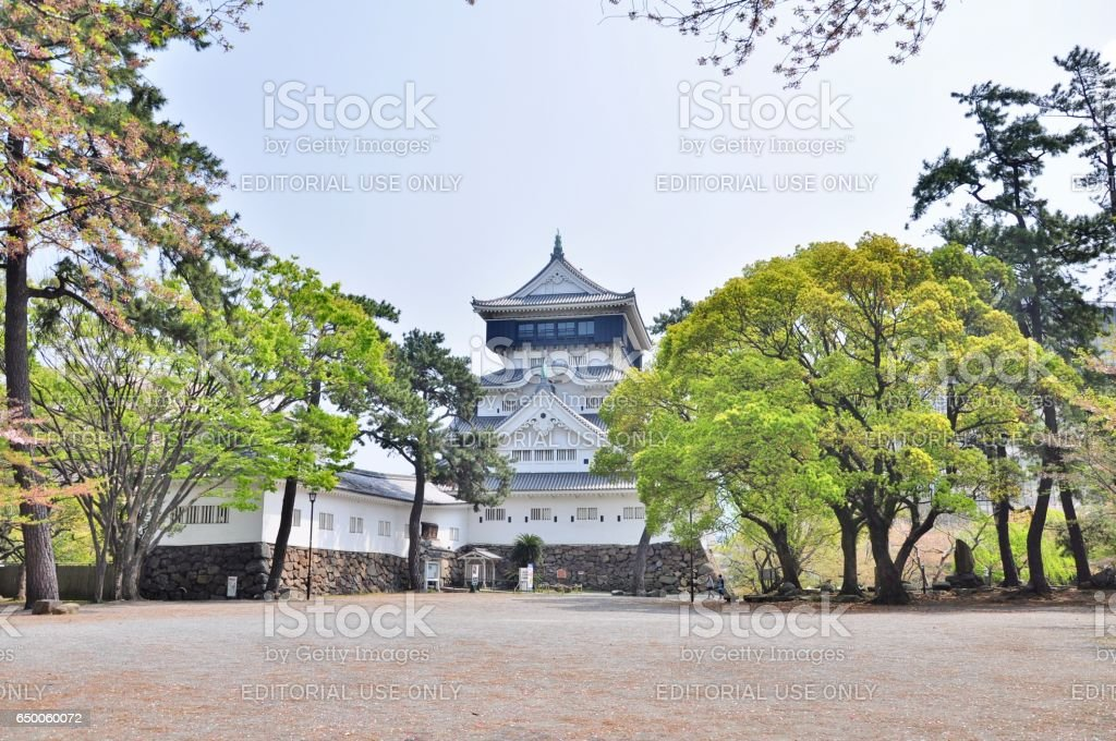 Kokura Castle stock photo