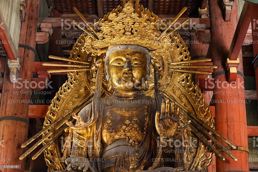 kokuzo bodhisattva at Todaoji Temple in Nara stock photo