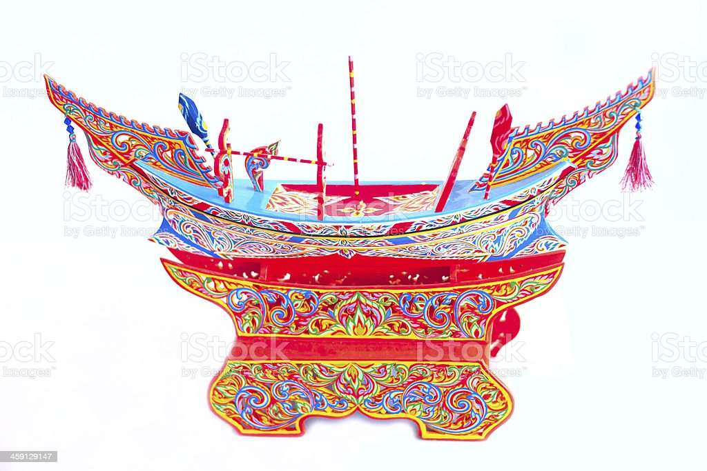 Kolek Boat royalty-free stock photo
