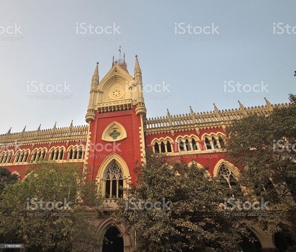 Kolkata High Court royalty-free stock photo