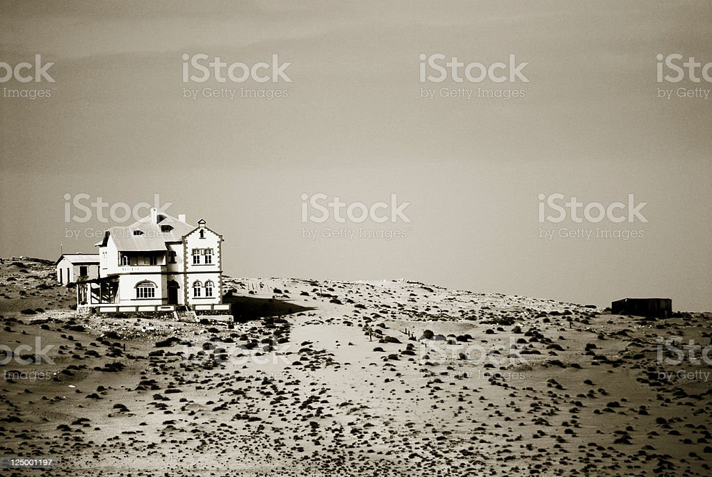 Kolmanskop, Namibia stock photo