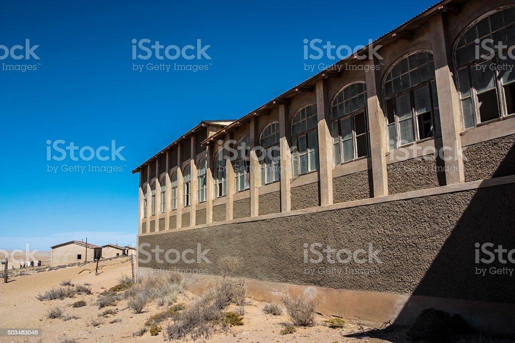 Kolmanskop stock photo