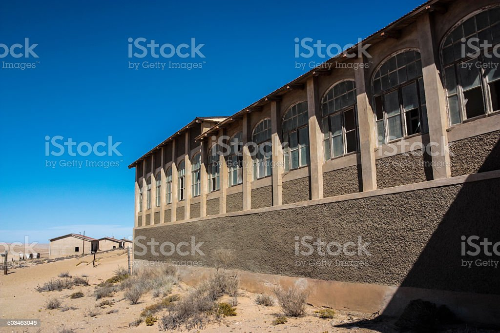 Kolmanskop stock photo