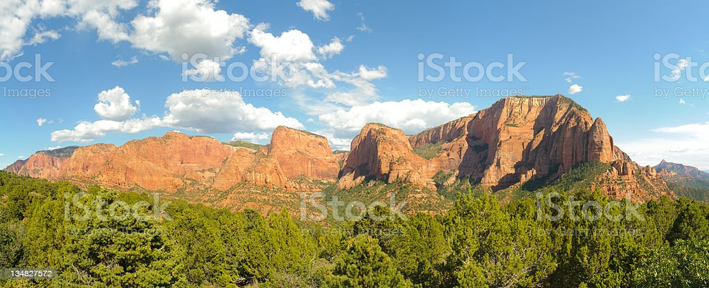 Kolob Canyon stock photo