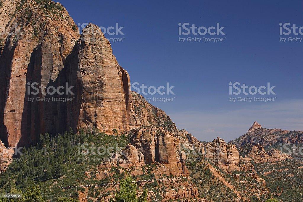 Kolob Canyon Thumb and Fingers 3 stock photo