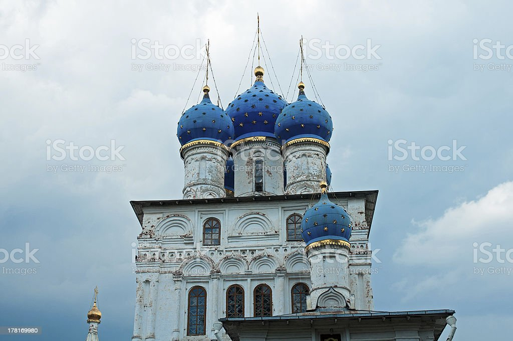 Kolomenskoye church royalty-free stock photo