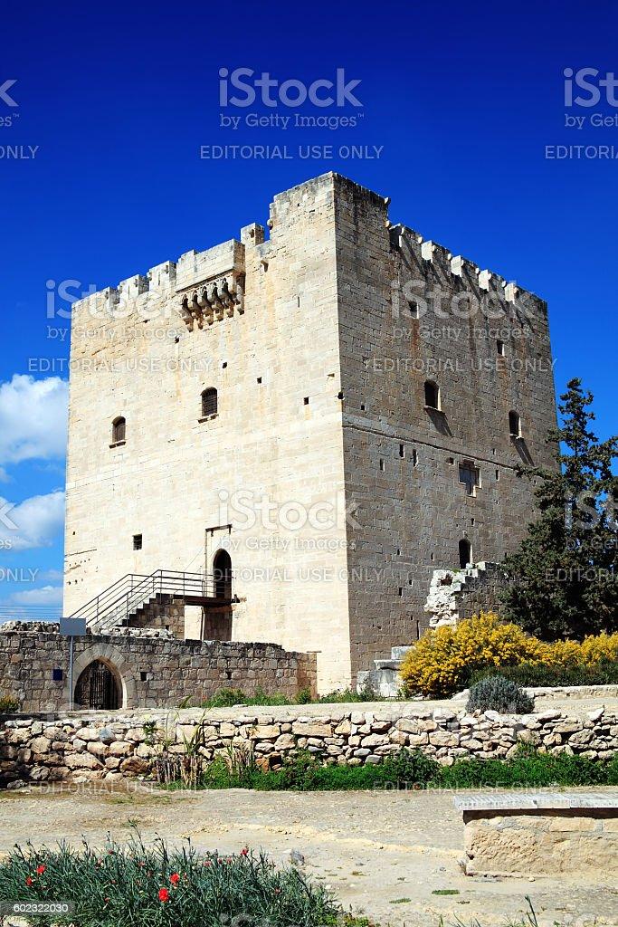 Kolossi Castle, Cyprus stock photo