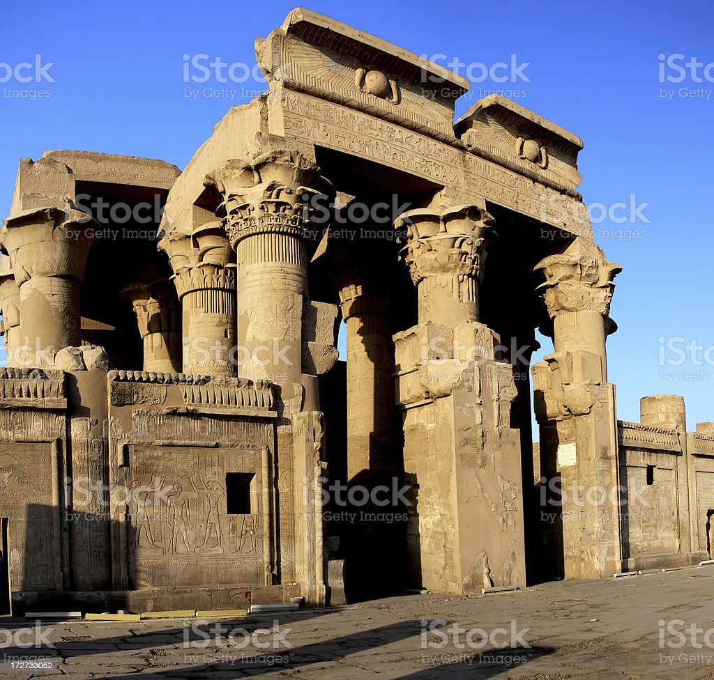 Kom Ombo Temple stock photo