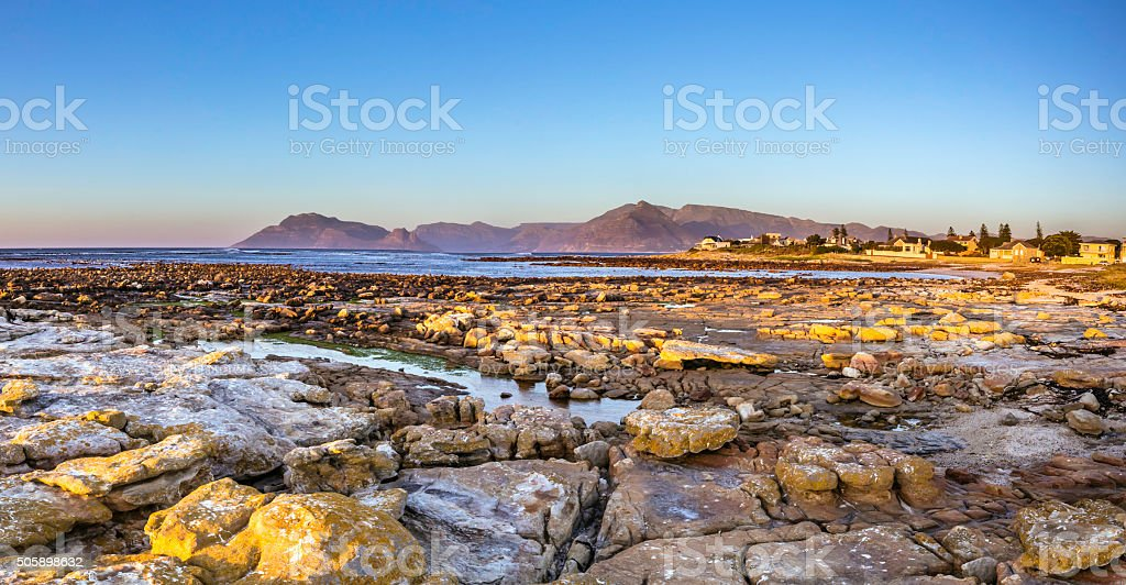 Kommetjie in the Southern Cape Point stock photo
