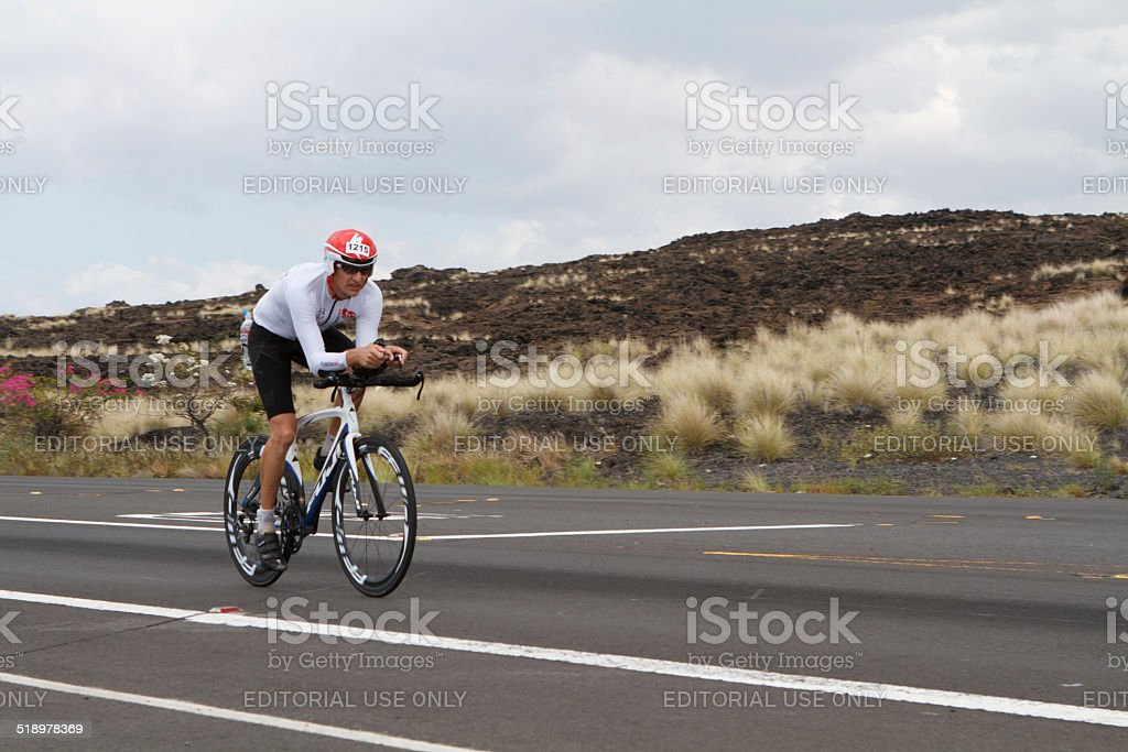 Kona Ironman Triathalon stock photo