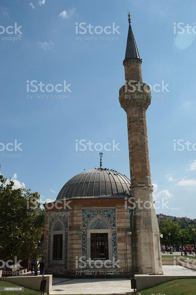 Konak Mosque stock photo