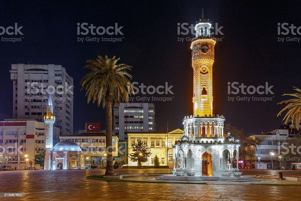 Konak Square in Izmir stock photo