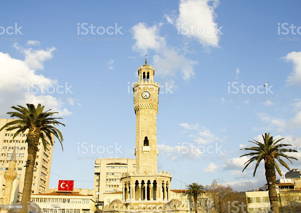 konak square in İzmir royalty-free stock photo