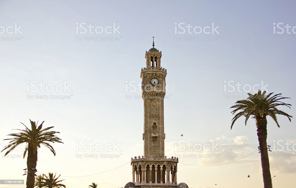konak square in İzmir royalty-free stock photo