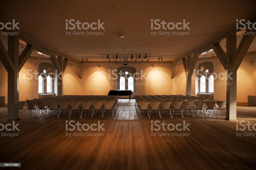 konferance hall stock photo