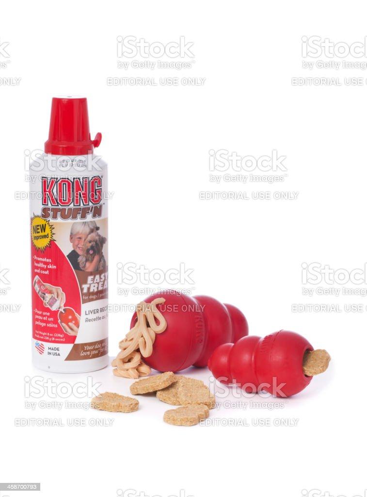 Kong Dog Toys and Treats stock photo