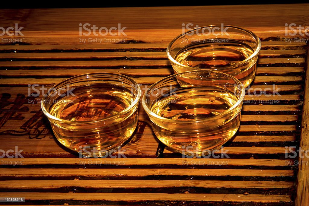 kongfu tea royalty-free stock photo