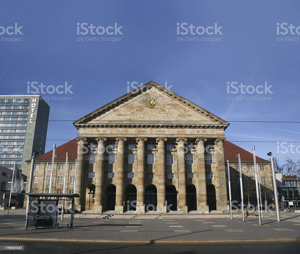 Kongress palais / Stadthalle Kassel stock photo