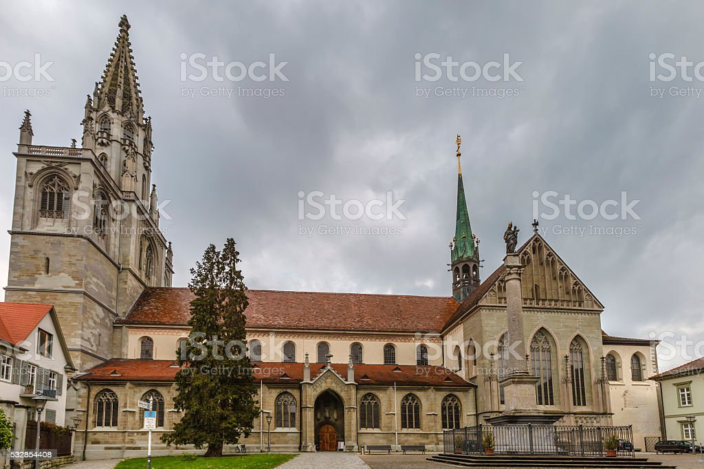 Konstanz Minster, Germany stock photo