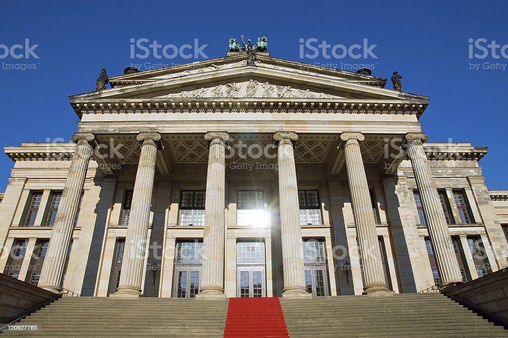 Konzerthaus at the Gendarmenmarkt royalty-free stock photo